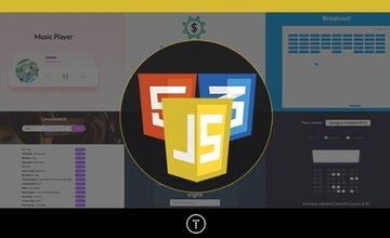 20 веб-проектов с использованием Vanilla JavaScript