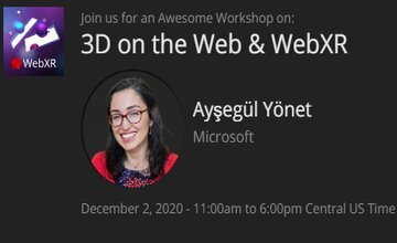 3D в Web и WebXR