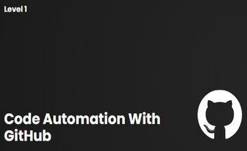 Автоматизация с помощью GitHub