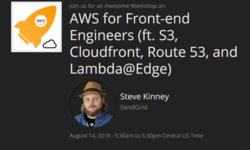 AWS для Frontend инженеров (S3, Cloudfront, Route 53, and Lambda@Edge)