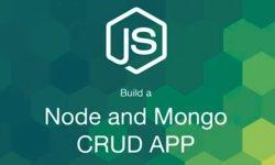 Делаем CRUD приложение с Node и MongoDB