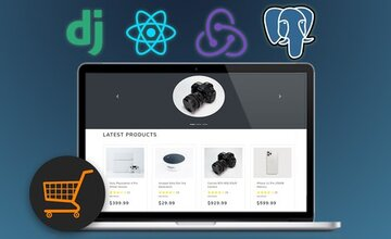 Django с React | Веб-сайт электронной торговли