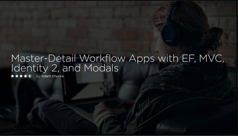 ASP.NET MVC 5 - Master-Detail Workflow