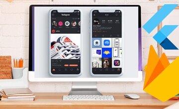 Flutter Android и iOS: Клон Instagram с Firebase 2020