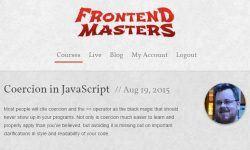 Принуждение в JavaScript