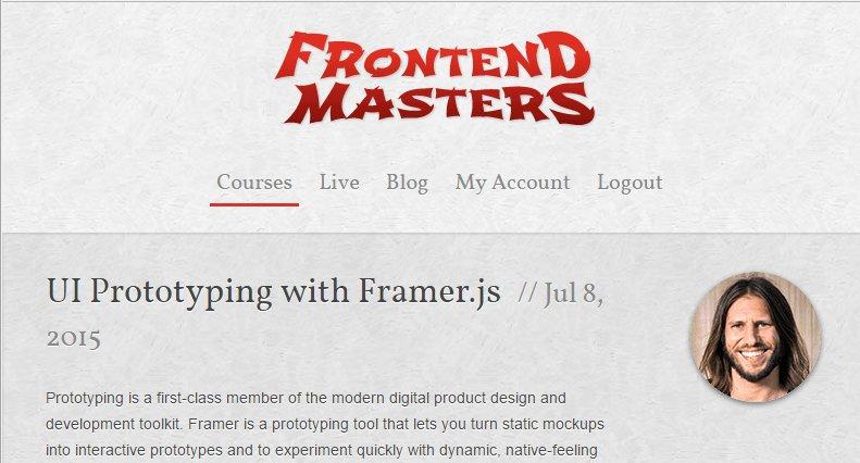 Прототипирование с Framer.js