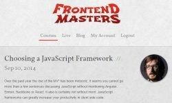 Выбираем JavaScript Фреймворк