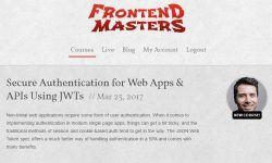Аутентификации для веб-приложений и API-интерфейсов с помощью JWT