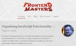 Организация функциональности JavaScript