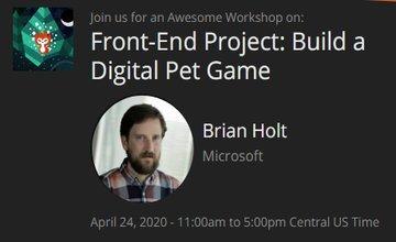 Front-End Проект: Создания игры (Digital Pet Game)