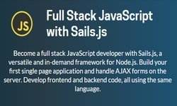 Full Stack JavaScript с Sails.js