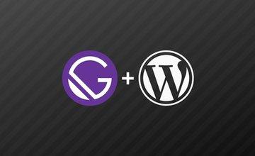 Gatsby JS: создание статических сайтов с помощью React,  Wordpress...
