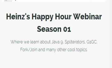 Heinz's Happy Hour Webinar - Сезон 01