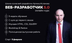 Веб-разработчик 5.0