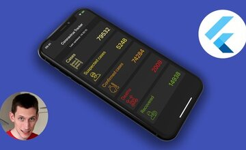 Интенсивный курс Flutter REST API: приложения Coronavirus tracker