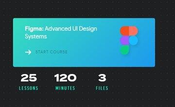 Изучите продвинутые UI дизайн-системы с Figma