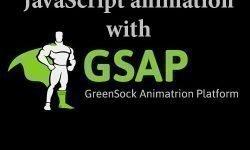 JavaScript анимация используя GSAP