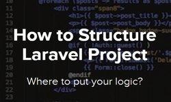 Как структурировать проект Laravel