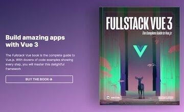 [Книга] Fullstack Vue Book - Полное руководство по Vue