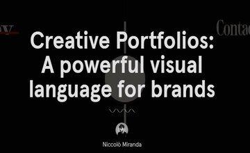 Креативные Портфолио: Мощный Визуальный Язык для Брендов