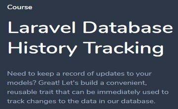 Laravel - отслеживание изменений базы данных