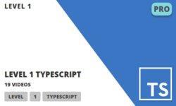 Level 1 TypeScript