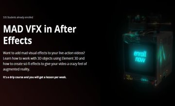 MAD VFX в After Effects