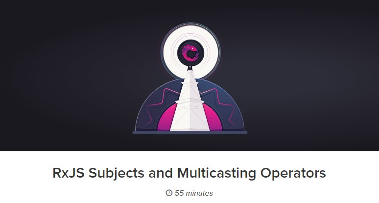 RxJS: Subjects и Multicasting операторы
