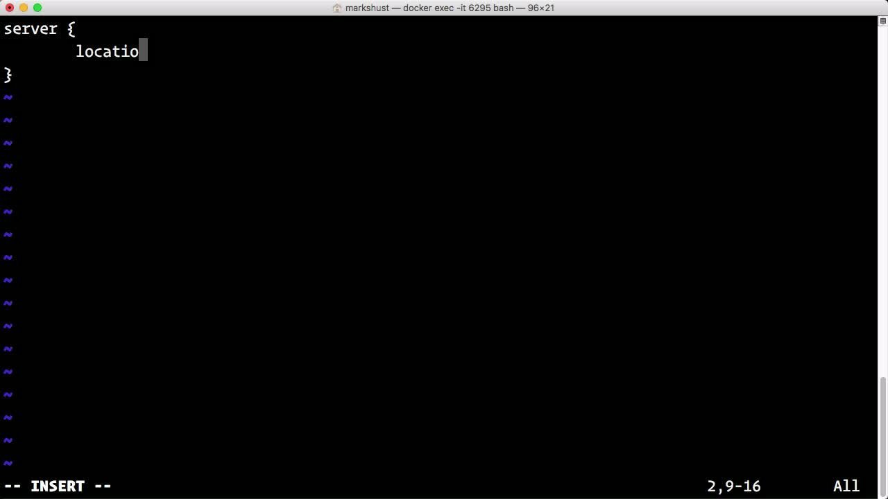 Настройка Nginx прокси для приложения Node.js с помощью Docker