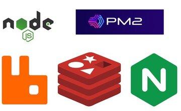 Node JS Cluster с PM2, RabbitMQ, Redis и Nginx