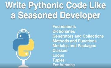 Пишите код Pythonic как опытный разработчик