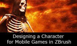 Zbrush: Дизайн персонажа для мобильных игр