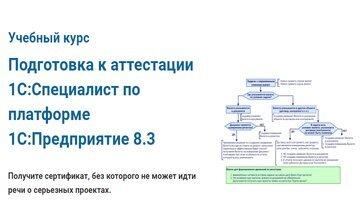 Подготовка к аттестации 1С:Специалист по платформе 1С:Предприятие8.3