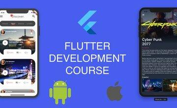 Полный курс Flutter UI | Создавайте удивительные мобильные приложения