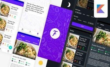 Приложение Modern Food Recipes - Разработка на Android с Kotlin