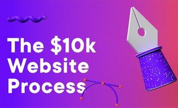 Процесс создания веб-сайта за $10 000
