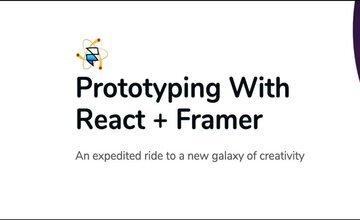 Прототипирование с React + Framer