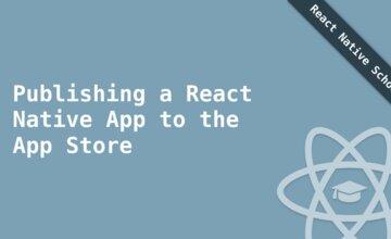 Публикация React Native приложения в App Store