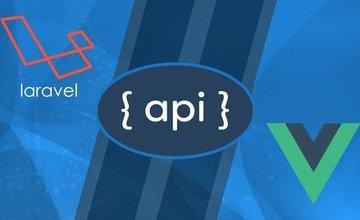 Разработка Laravel API и Vue JS SPA с нуля
