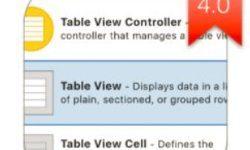 Разработка приложений на Swift на основе UITableView