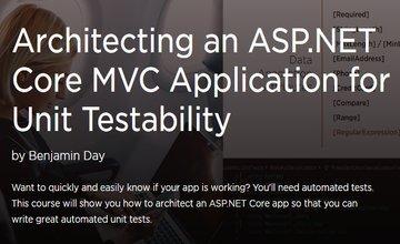 Разработка приложения ASP.NET Core MVC для модульной тестируемости