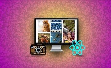 React клон Instagram - CSS Grid Mastery