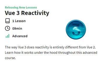 Реактивность Vue 3