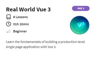 Real World Vue 3