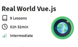 Real World Vue.js