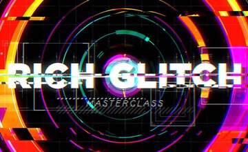 Rich Glitch (Эффект искажения) в Adobe After Effects