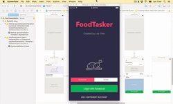 Создаем UI для UberEats в Xcode с Swift 3