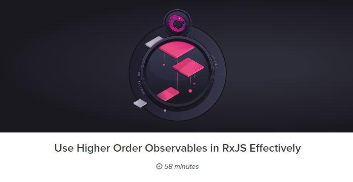 RxJS: Функции высокого порядка