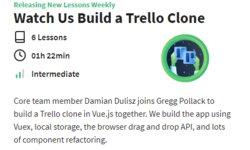 Наблюдайте как мы создаем клон Trello