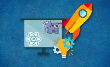 Создание административной панели на React.js + PHP